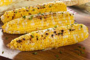 Elote (grilled corn)