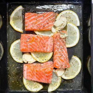 frozen salmon in air fryer