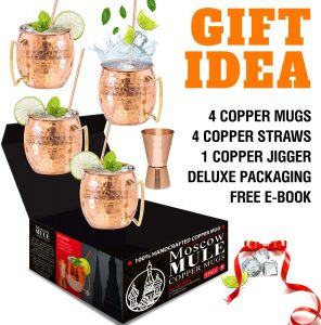 Moscow Mule cocktails gift ideas